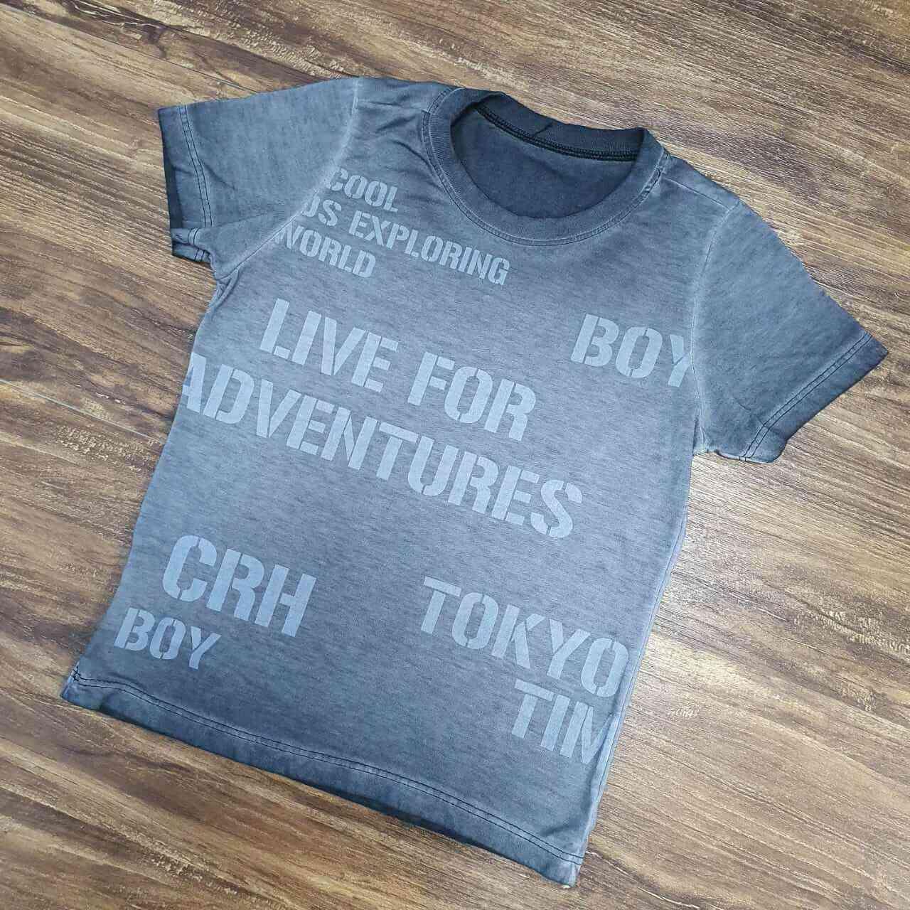 Camiseta Preta Infantil