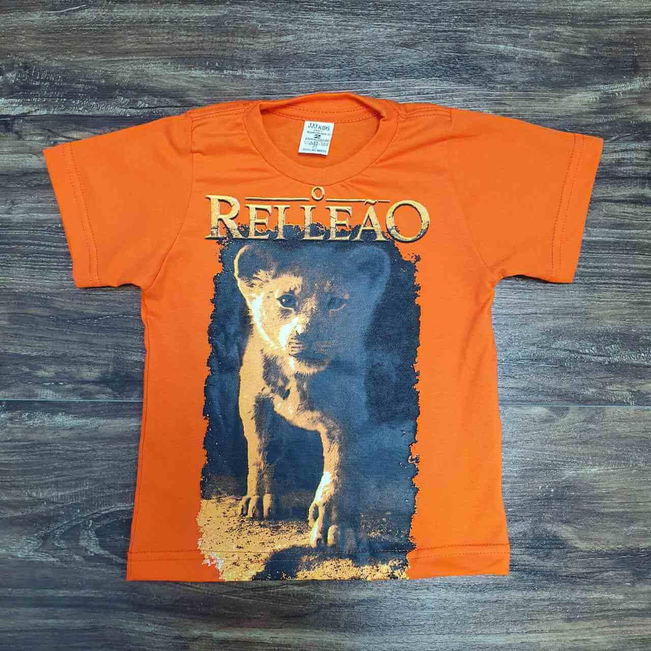 Camiseta Rei Leão Infantil