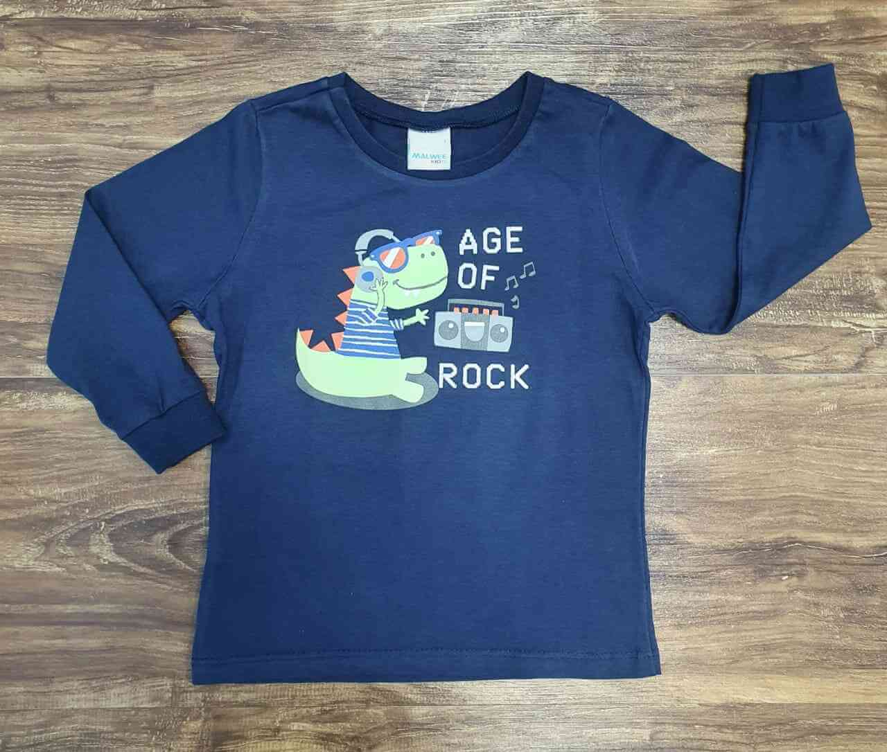 Camiseta Rock Infantil
