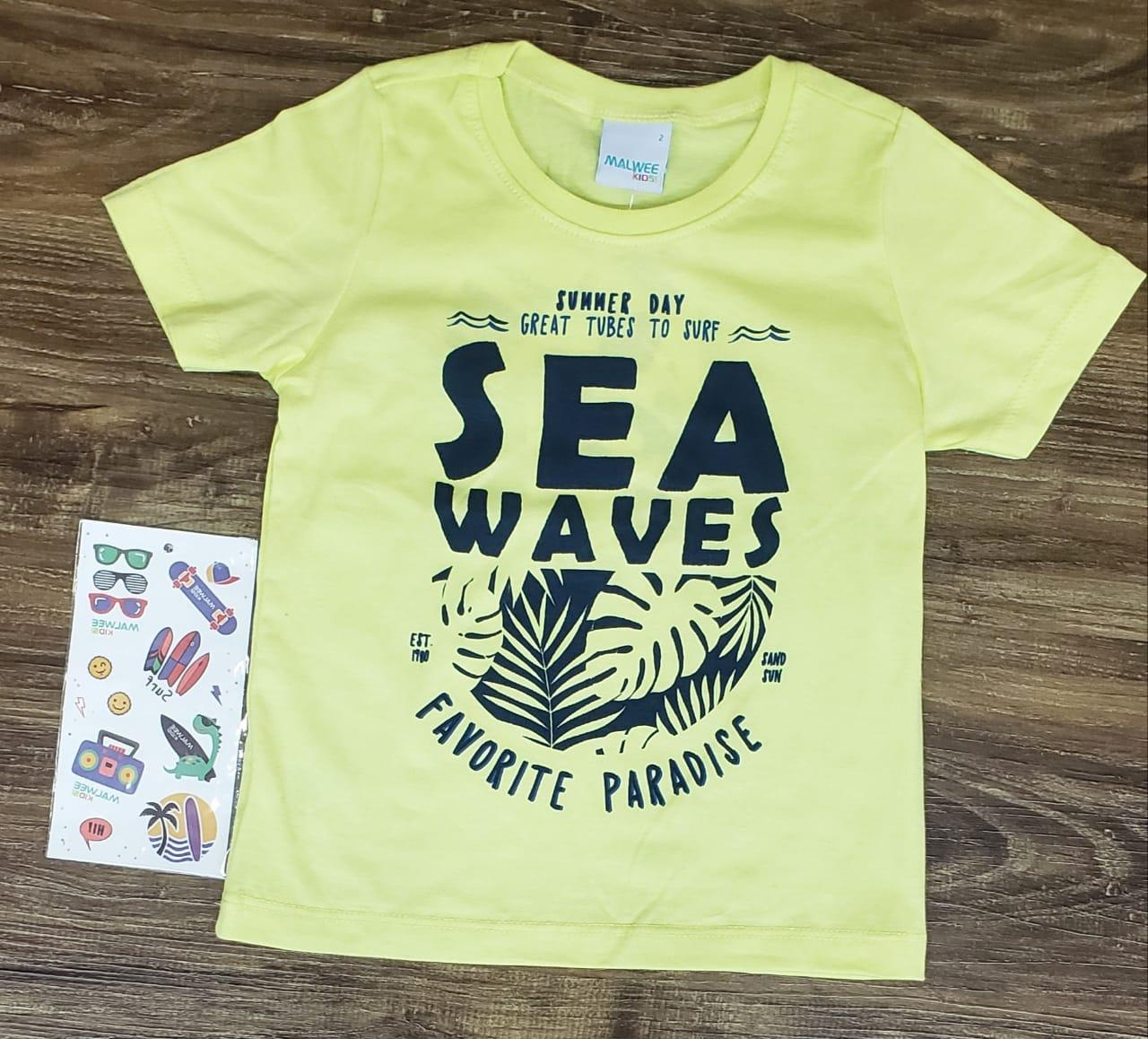 Camiseta Sea Waves