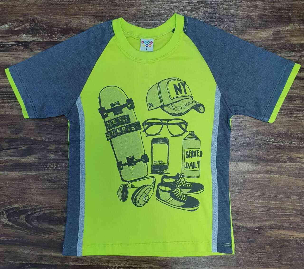Camiseta Skate Infantil
