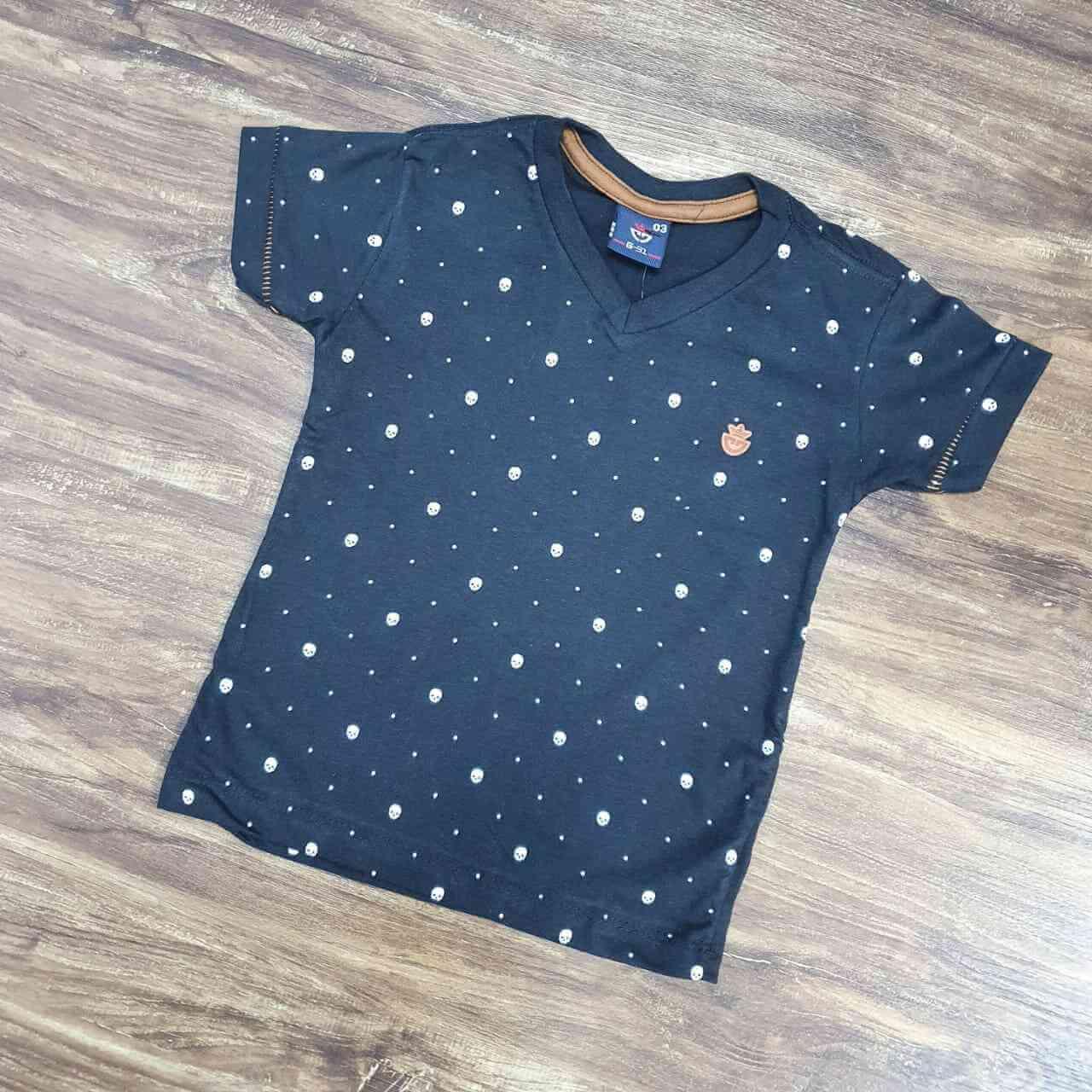 Camiseta Skull Infantil