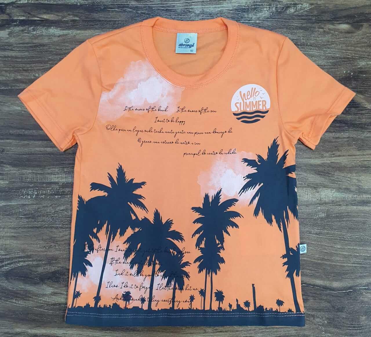 Camiseta Summer Infantil