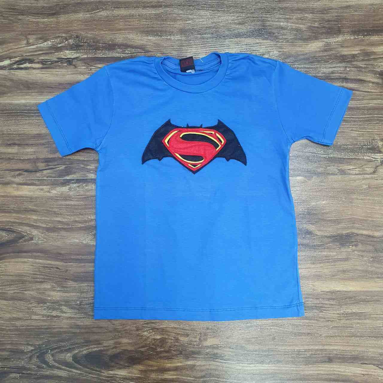 Camiseta Super Man Infantil