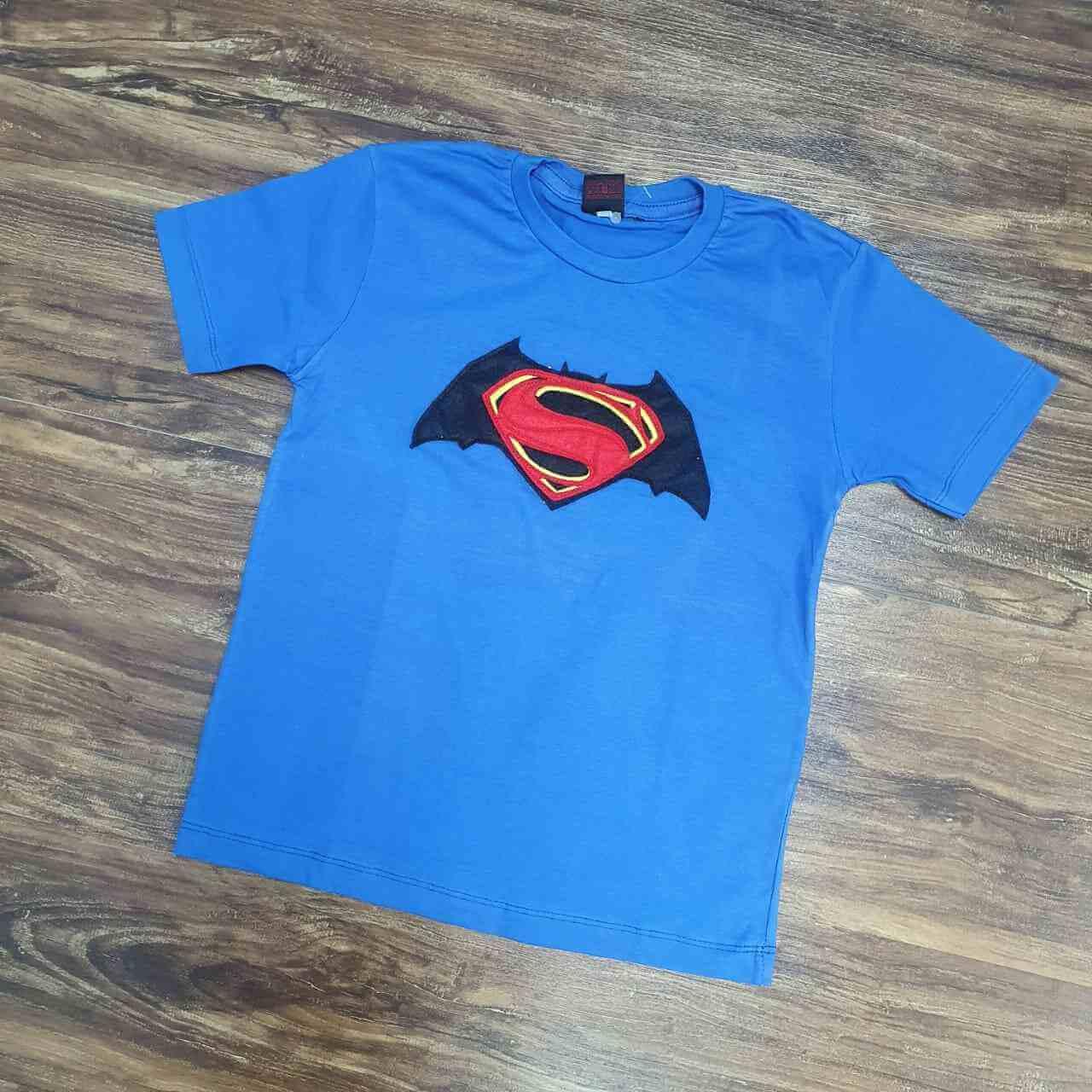 Camiseta Super Man Infantil