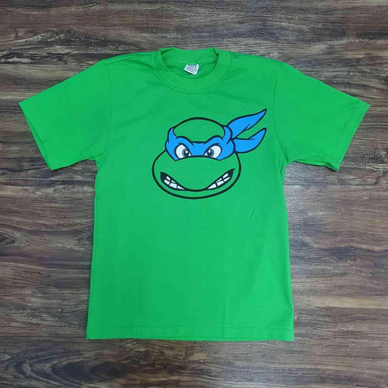 Camiseta Tartaruga Ninja Infantil