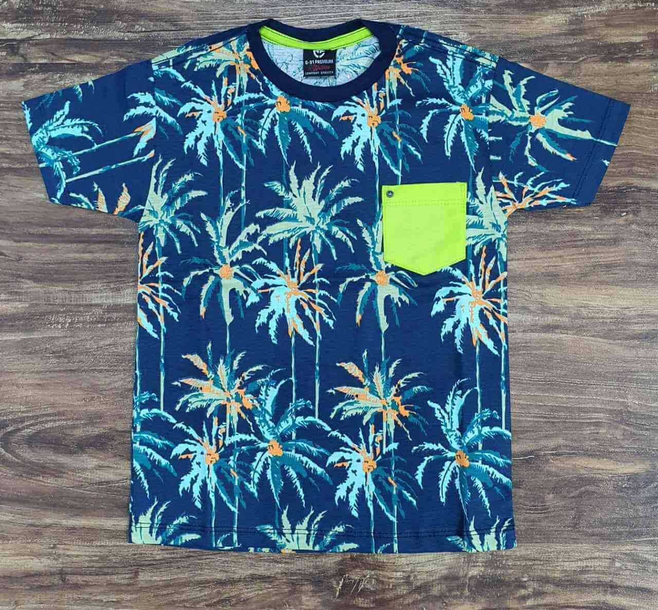 Camiseta Tropical Infantil
