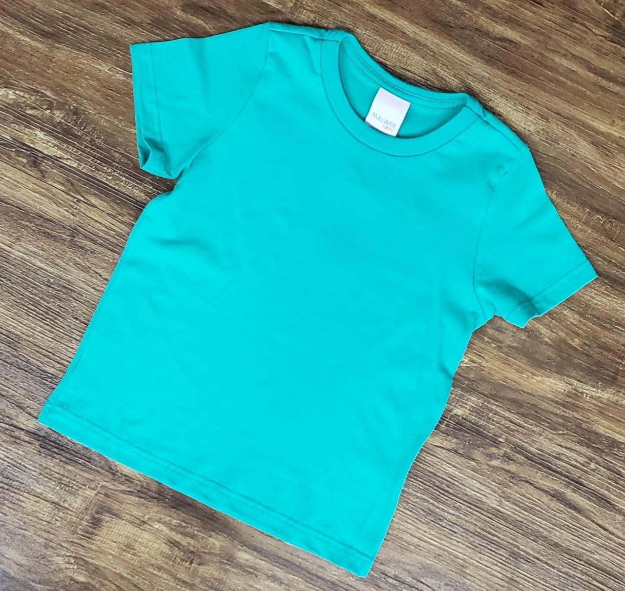 Camiseta Verde Água