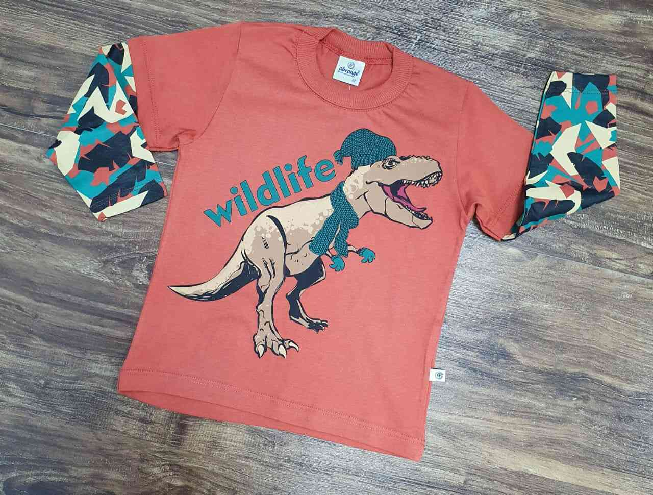 Camiseta Wildlife Infantil