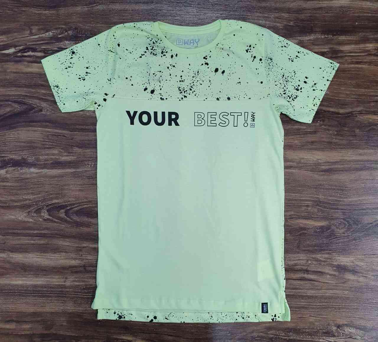 Camiseta Your Best Infantil