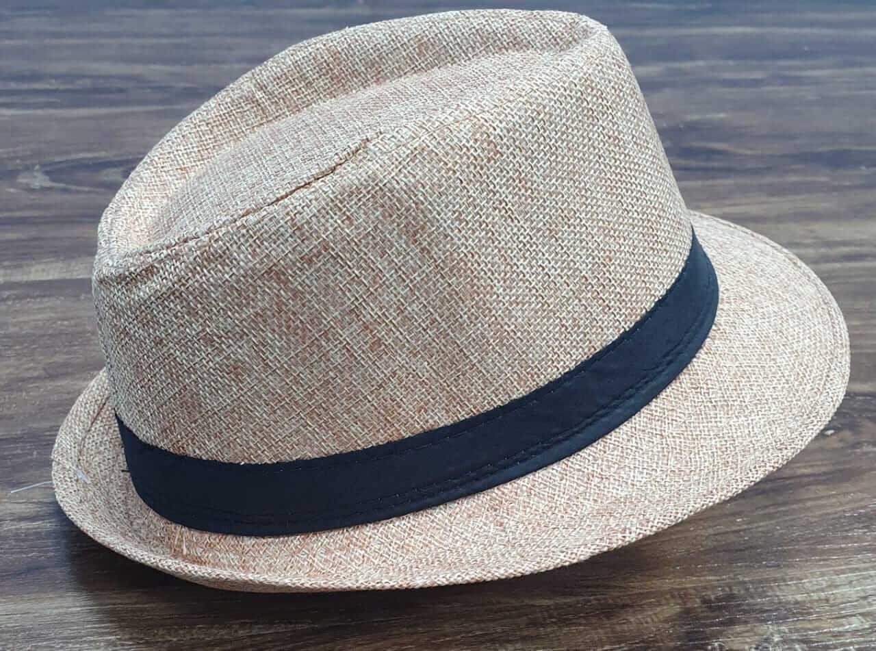 Chapéu Panamá Infantil Bege