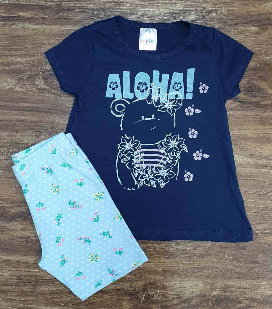 Conjunto Aloha Infantil