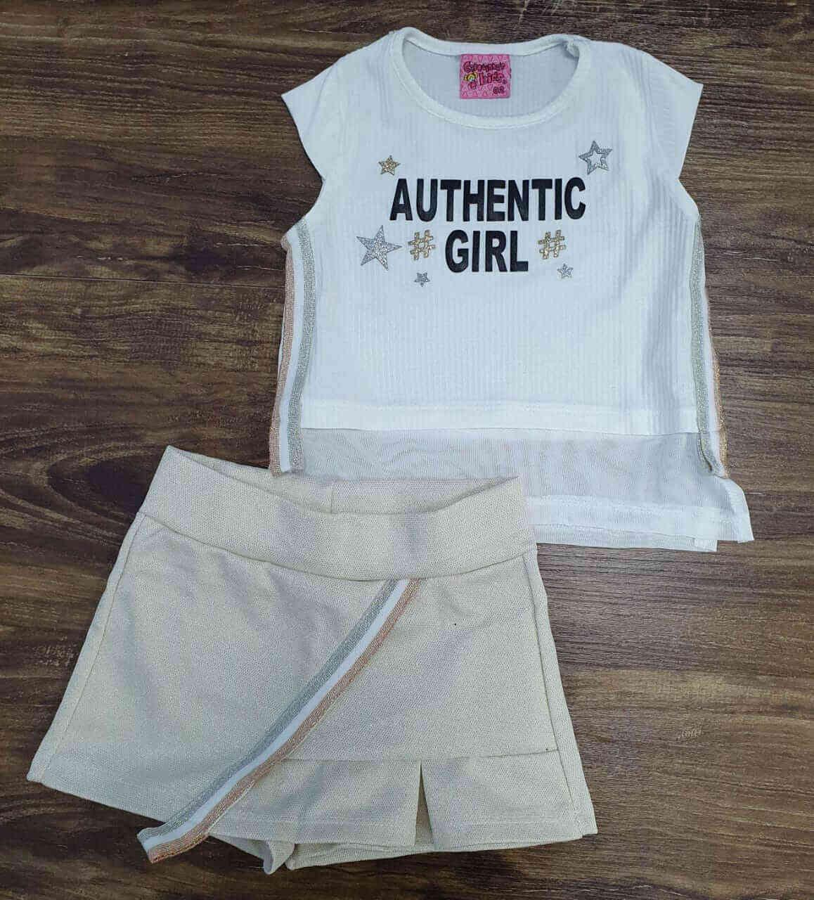 Conjunto Authentic Girl Infantil