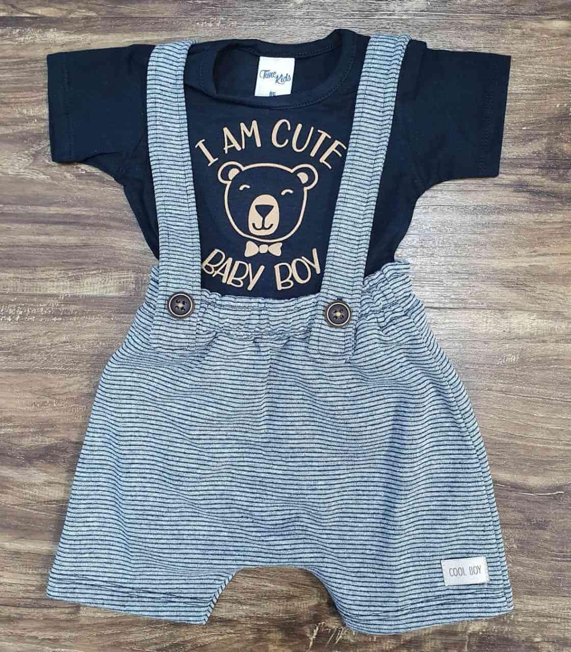 Conjunto Baby Boy Infantil