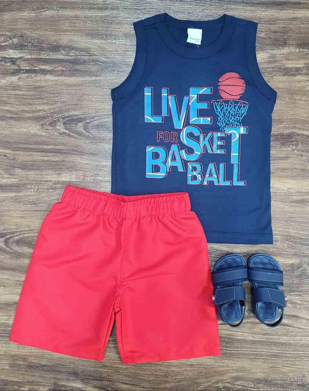 Conjunto Basketball Infantil