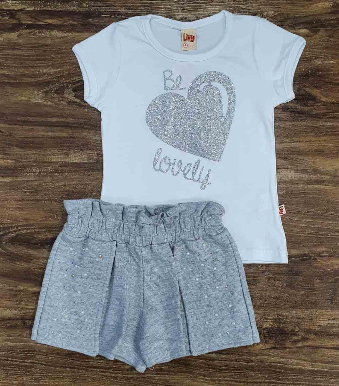 Conjunto Be Lovely Infantil