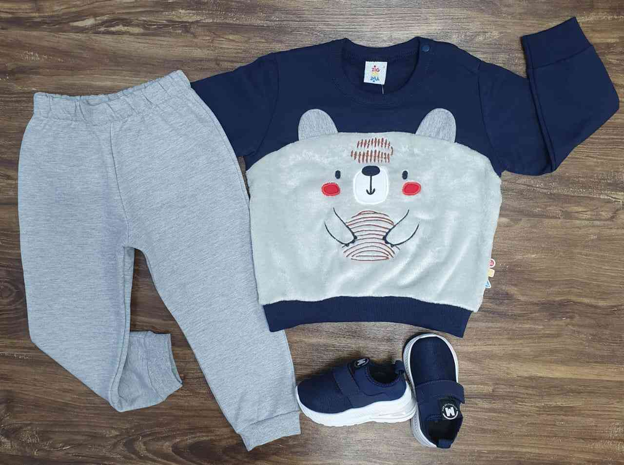 Conjunto Bear With Honey Infantil