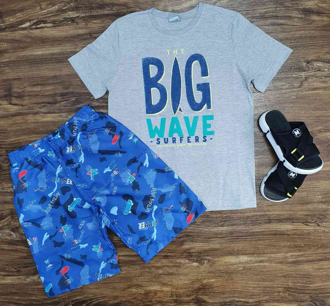 Conjunto Big Wave Infantil