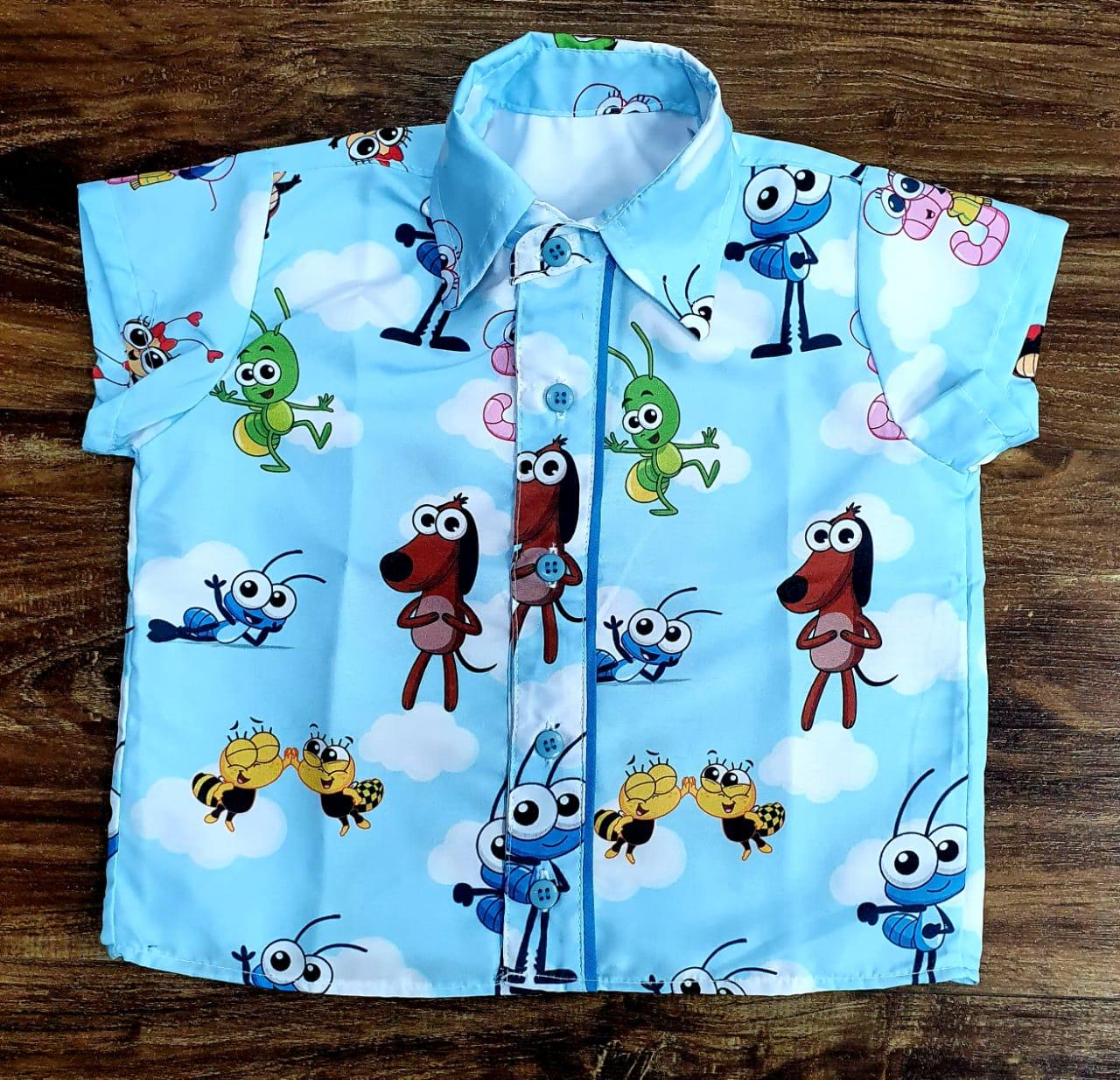 Conjunto Bob Zoom Azul Infantil