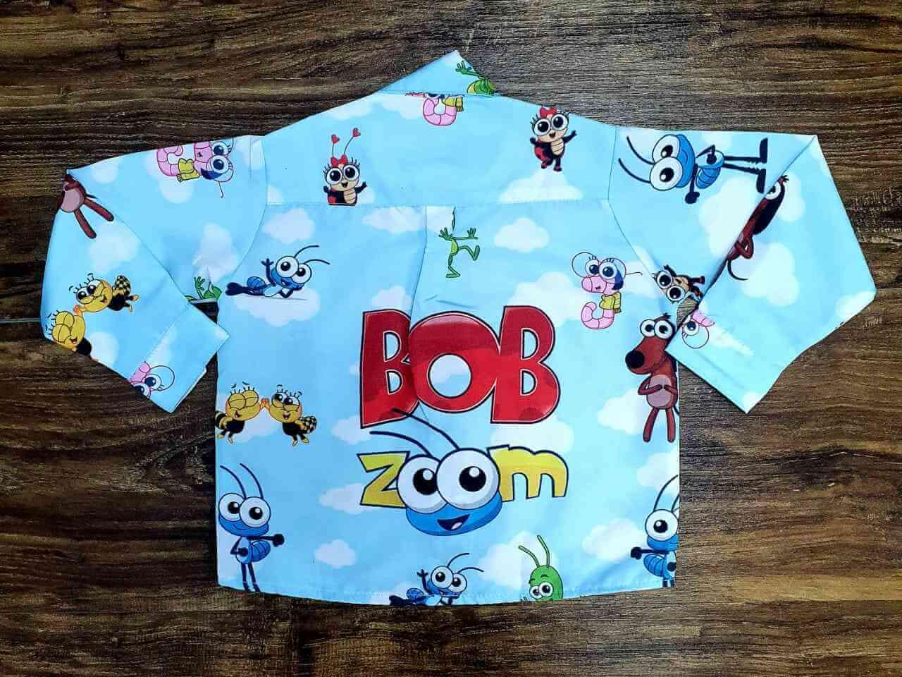 Conjunto Bob Zoom Infantil
