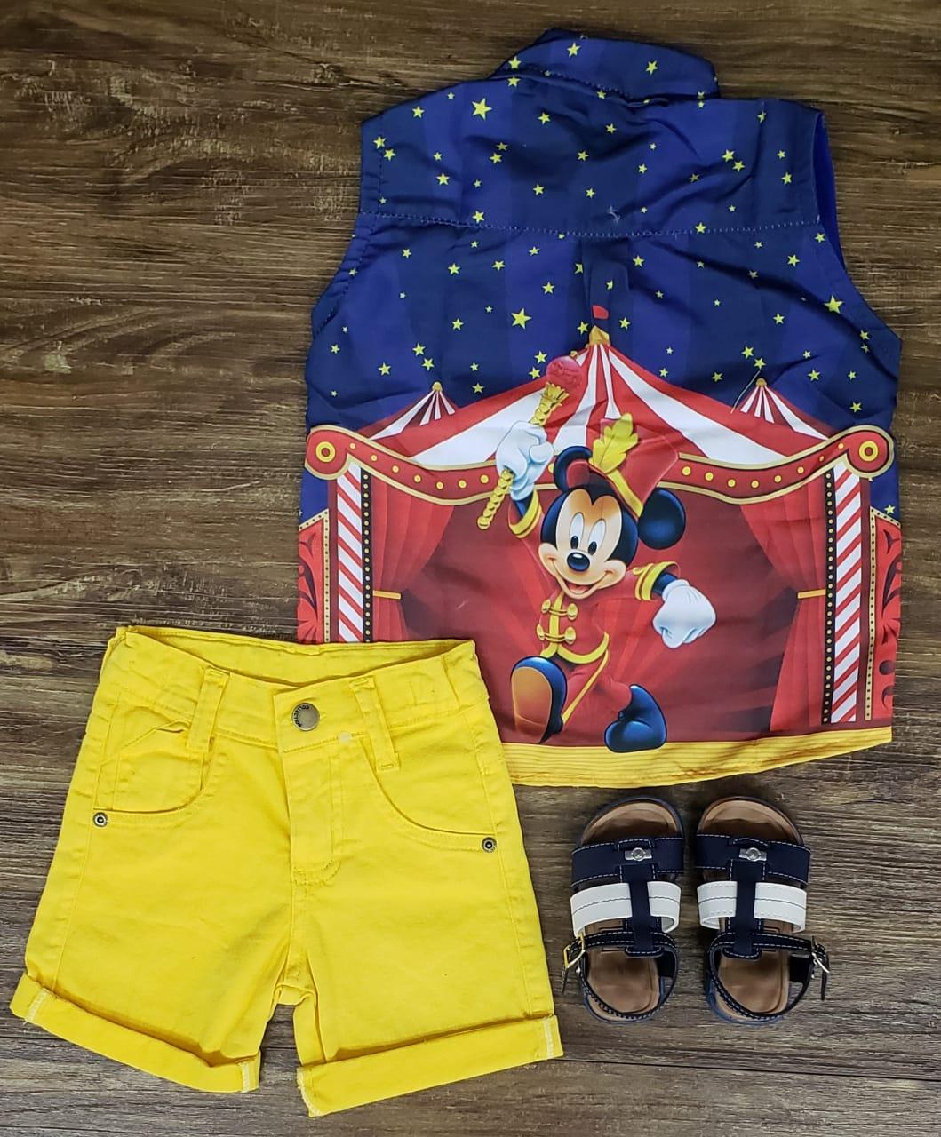Conjunto Circus Mickey