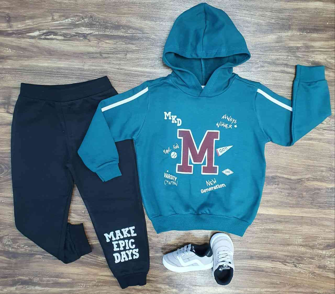 Conjunto College Athlete Infantil