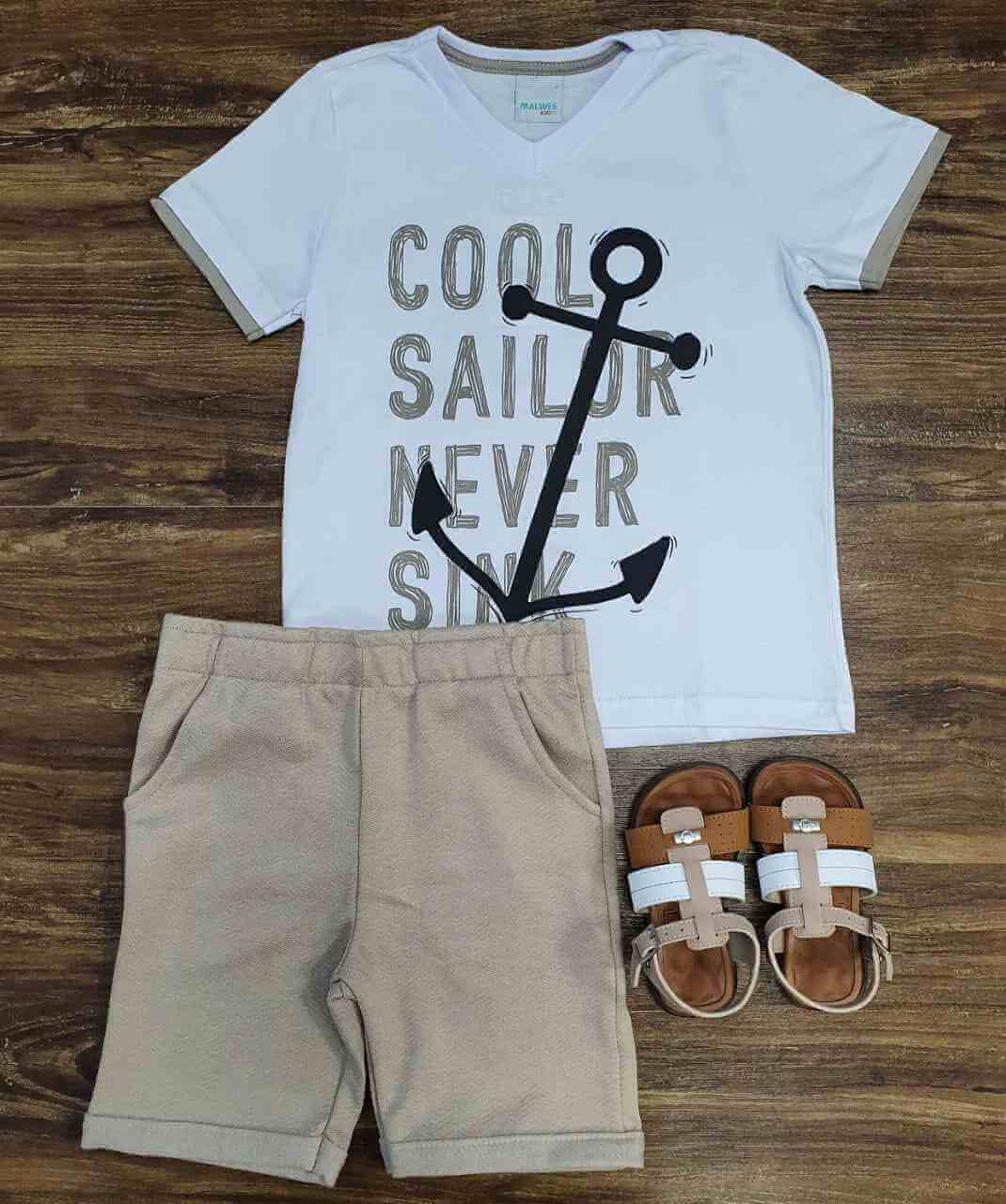 Conjunto Cool Sailor Infantil