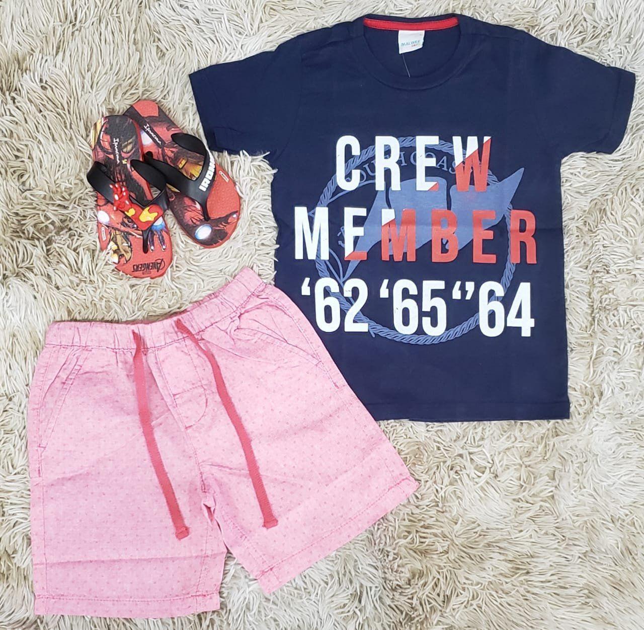 Conjunto Crew Member