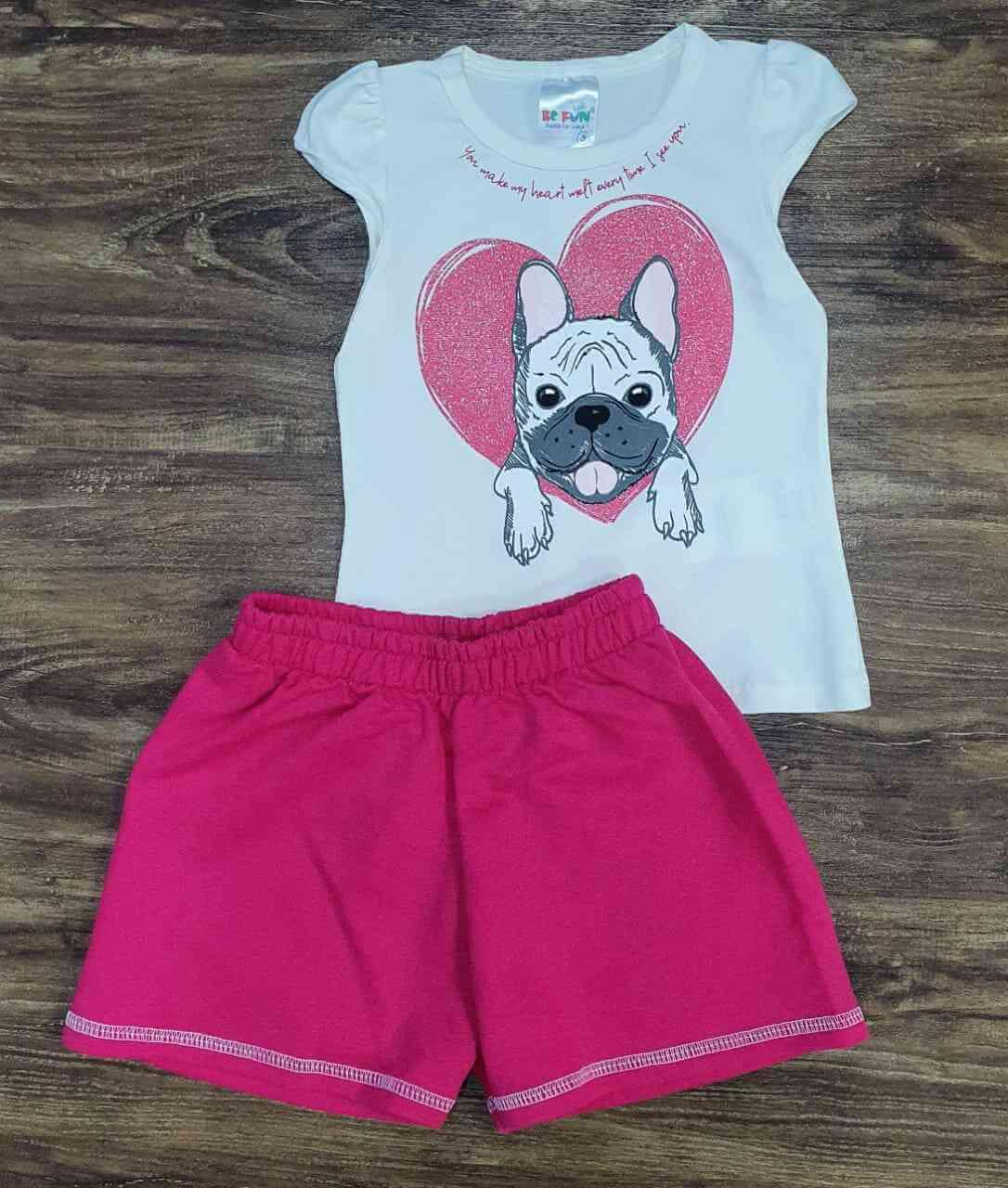 Conjunto Dog Infantil