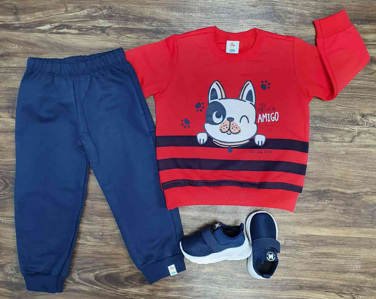 Conjunto Domestic Dog Infantil