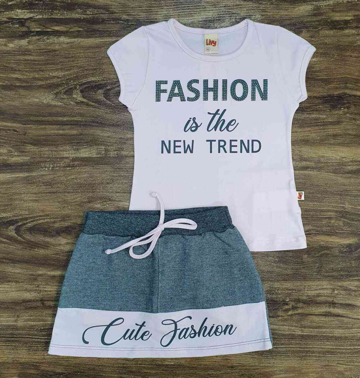 Conjunto Fashion Infantil