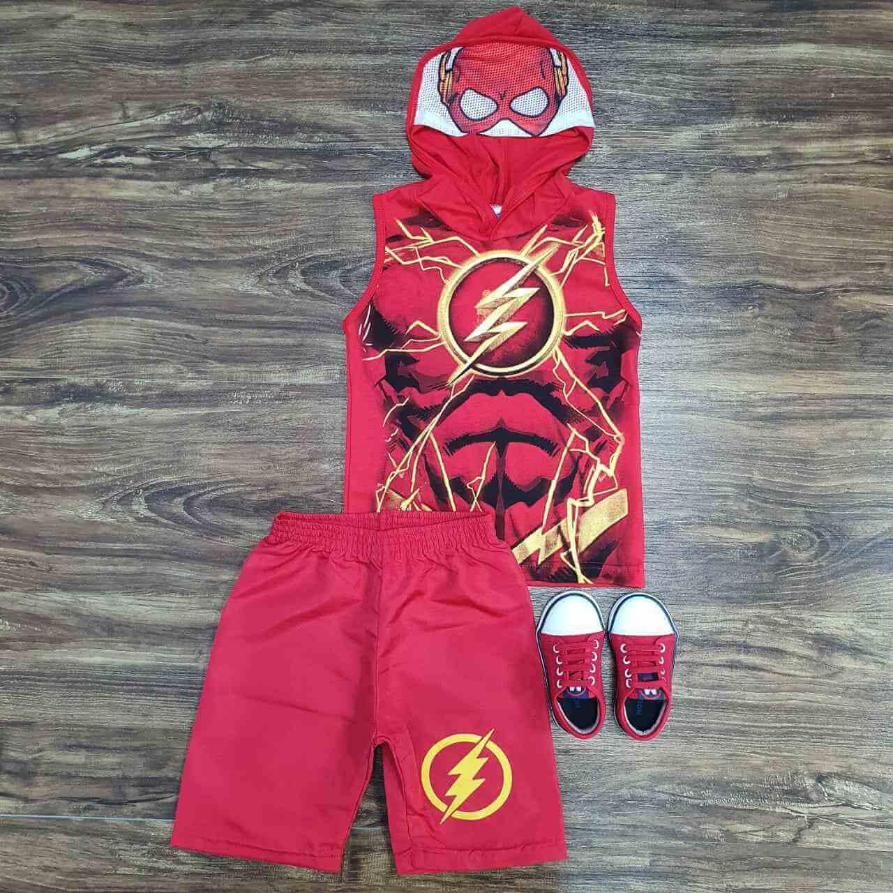 Conjunto Flash Infantil