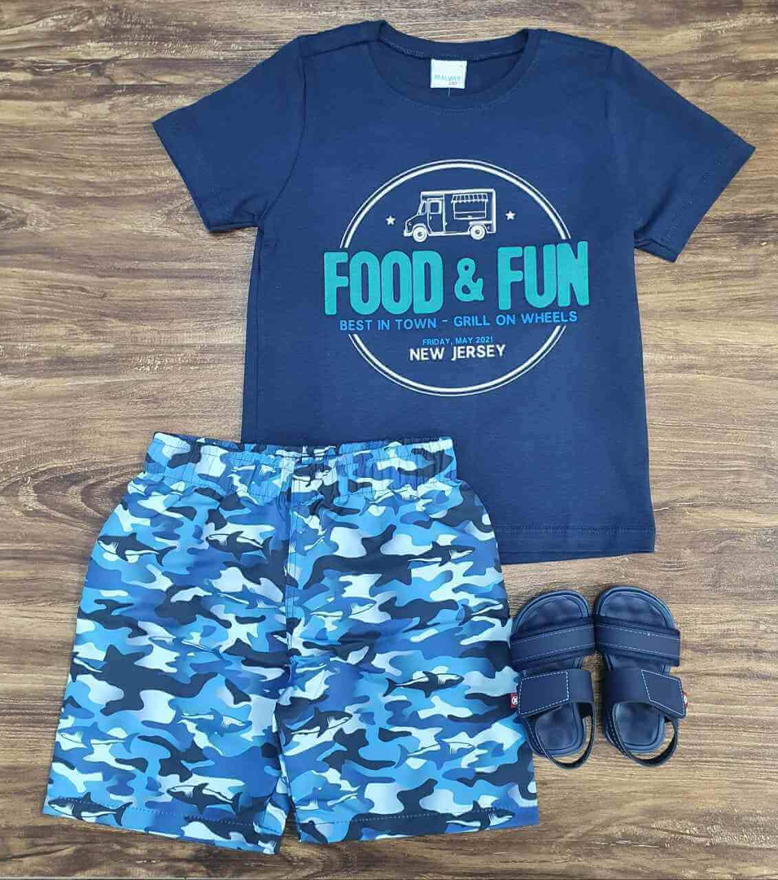 Conjunto Food & Fun Infantil