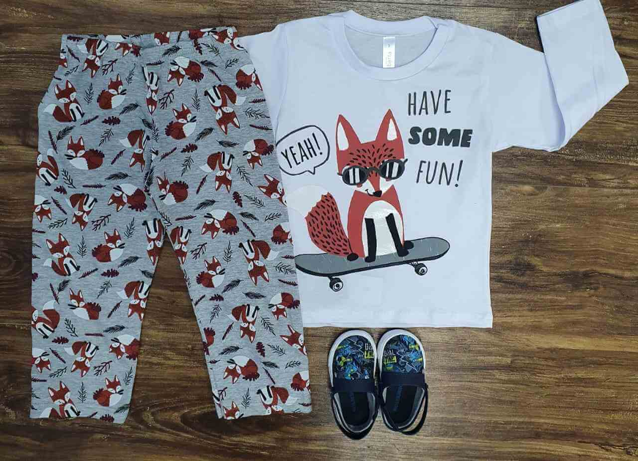 Pijama Fox Infantil