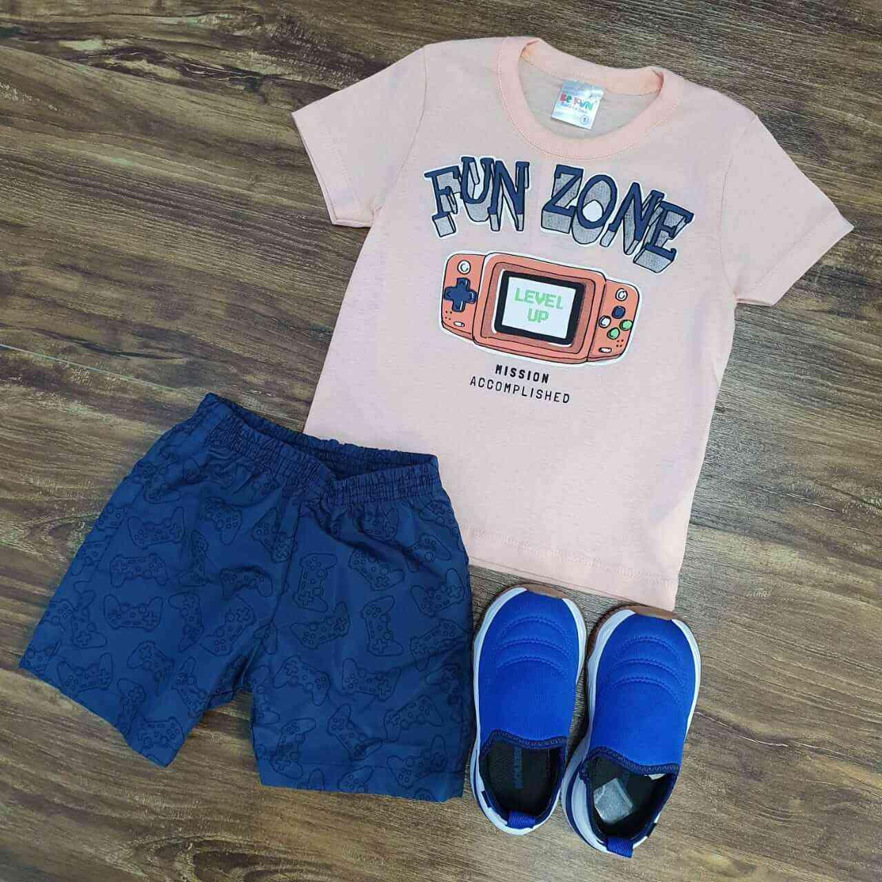 Conjunto Fun Zone Infantil