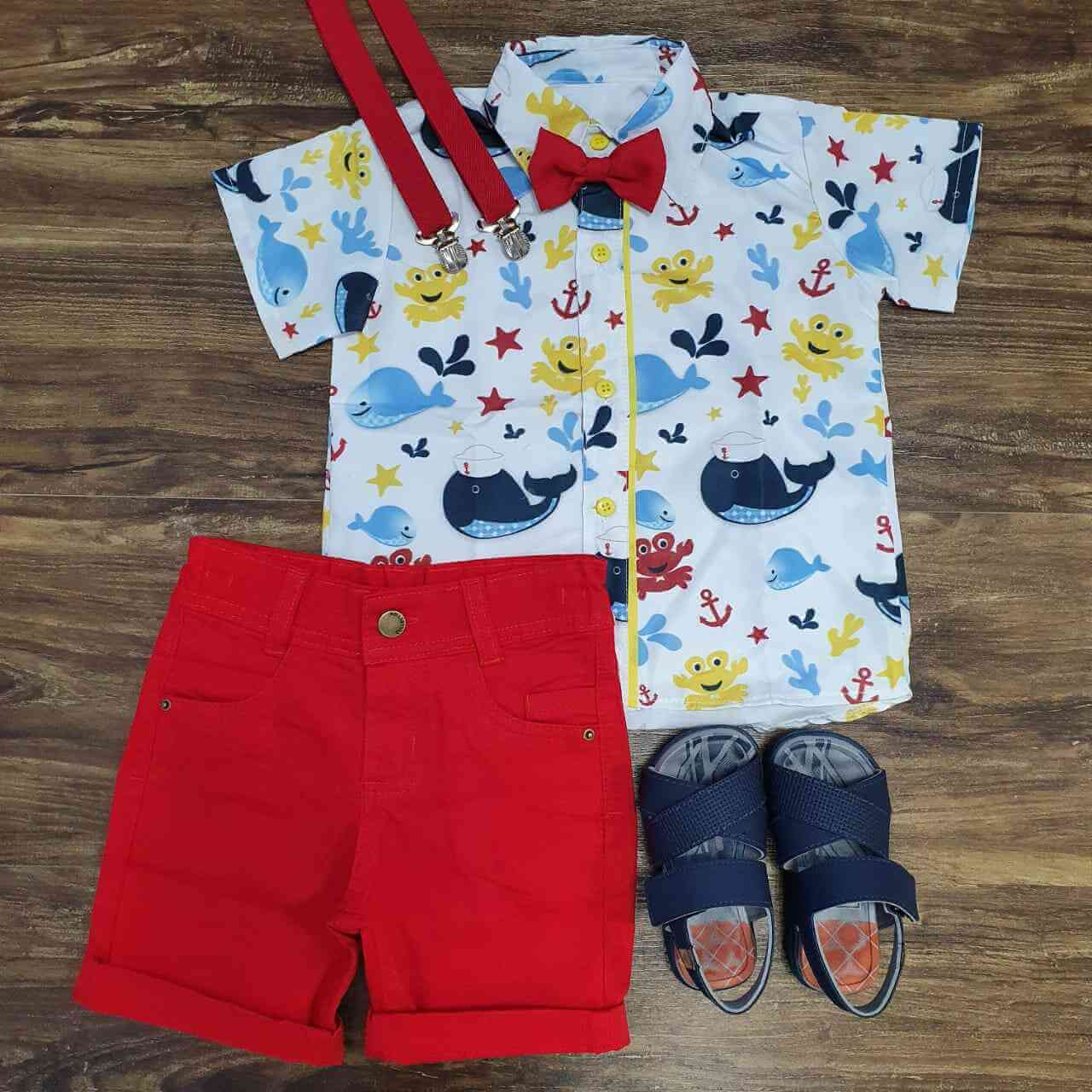 Conjunto Fundo do Mar