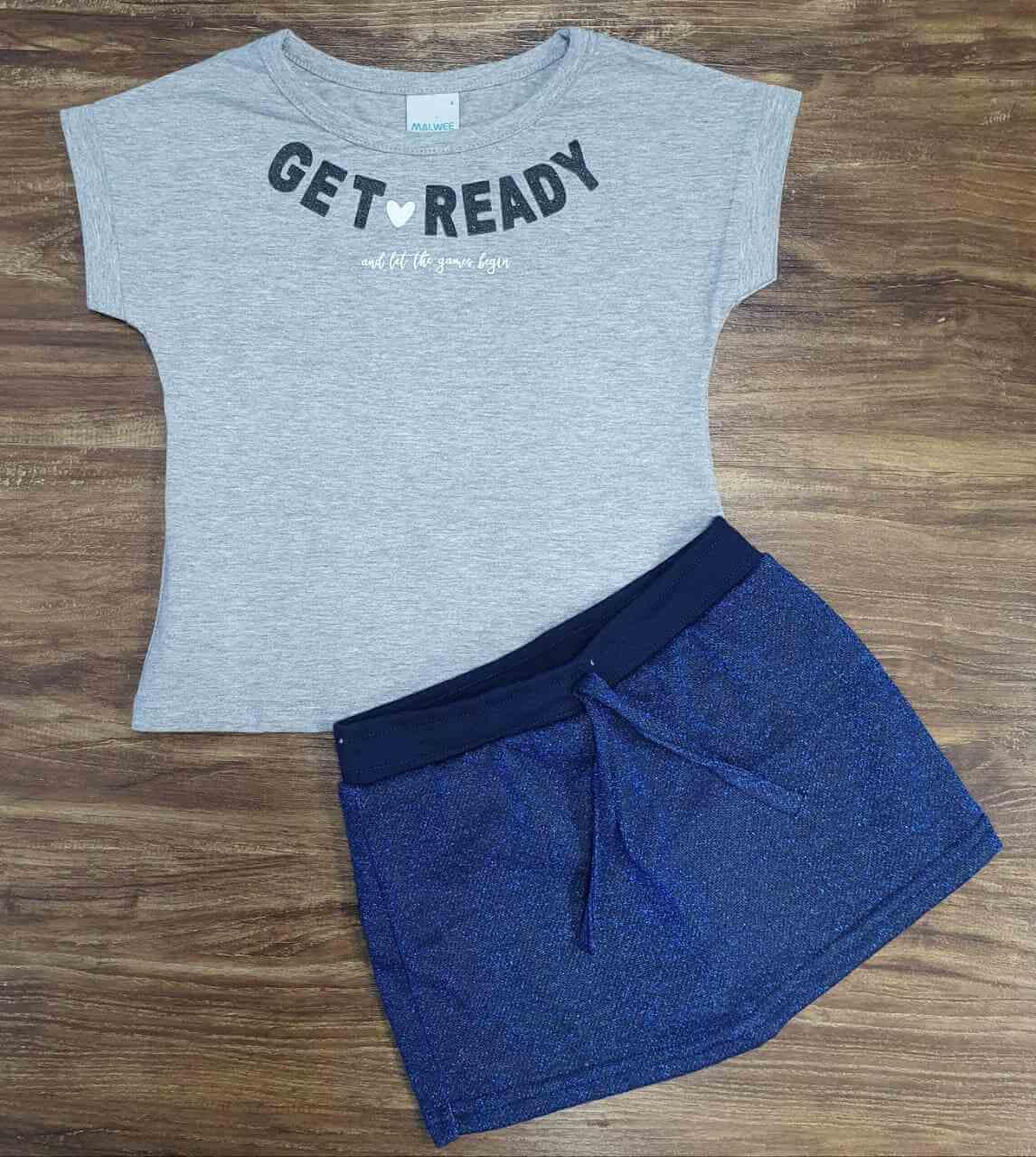 Conjunto Get Ready Infantil