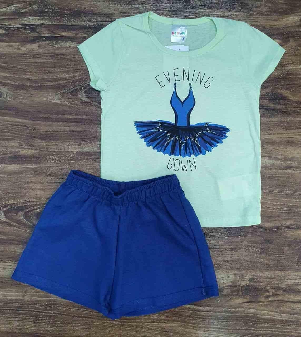 Conjunto Gown Infantil
