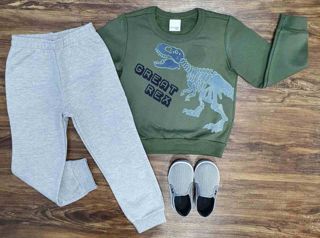 Conjunto Great Rex Infantil