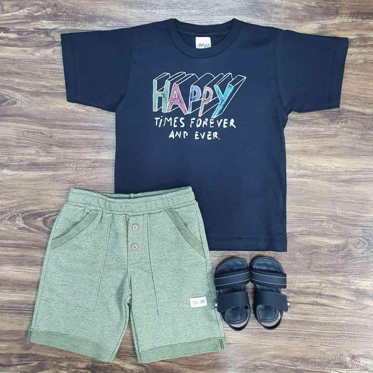 Conjunto Happy Infantil