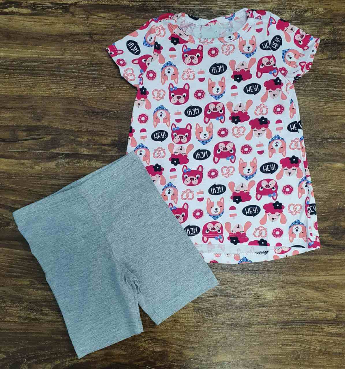 Conjunto Hey Dog Infantil