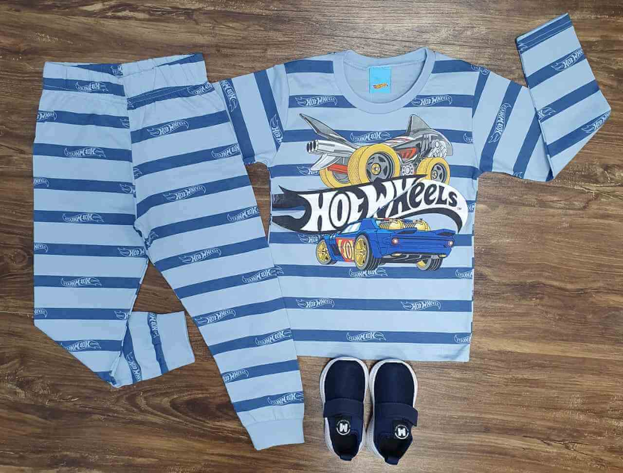 Conjunto Hot Wheels Infantil