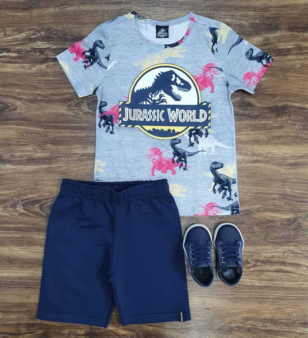 Conjunto Jurassic World Infantil
