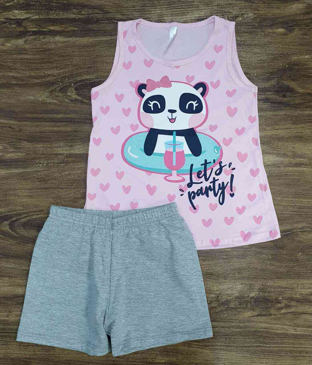 Conjunto Let's Party Infantil