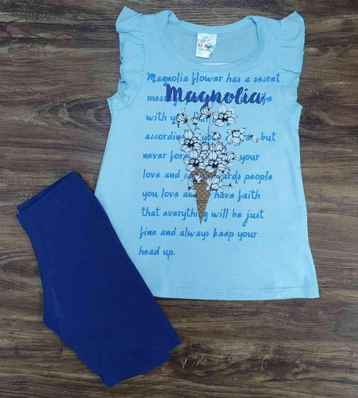 Conjunto Magnolia Infantil
