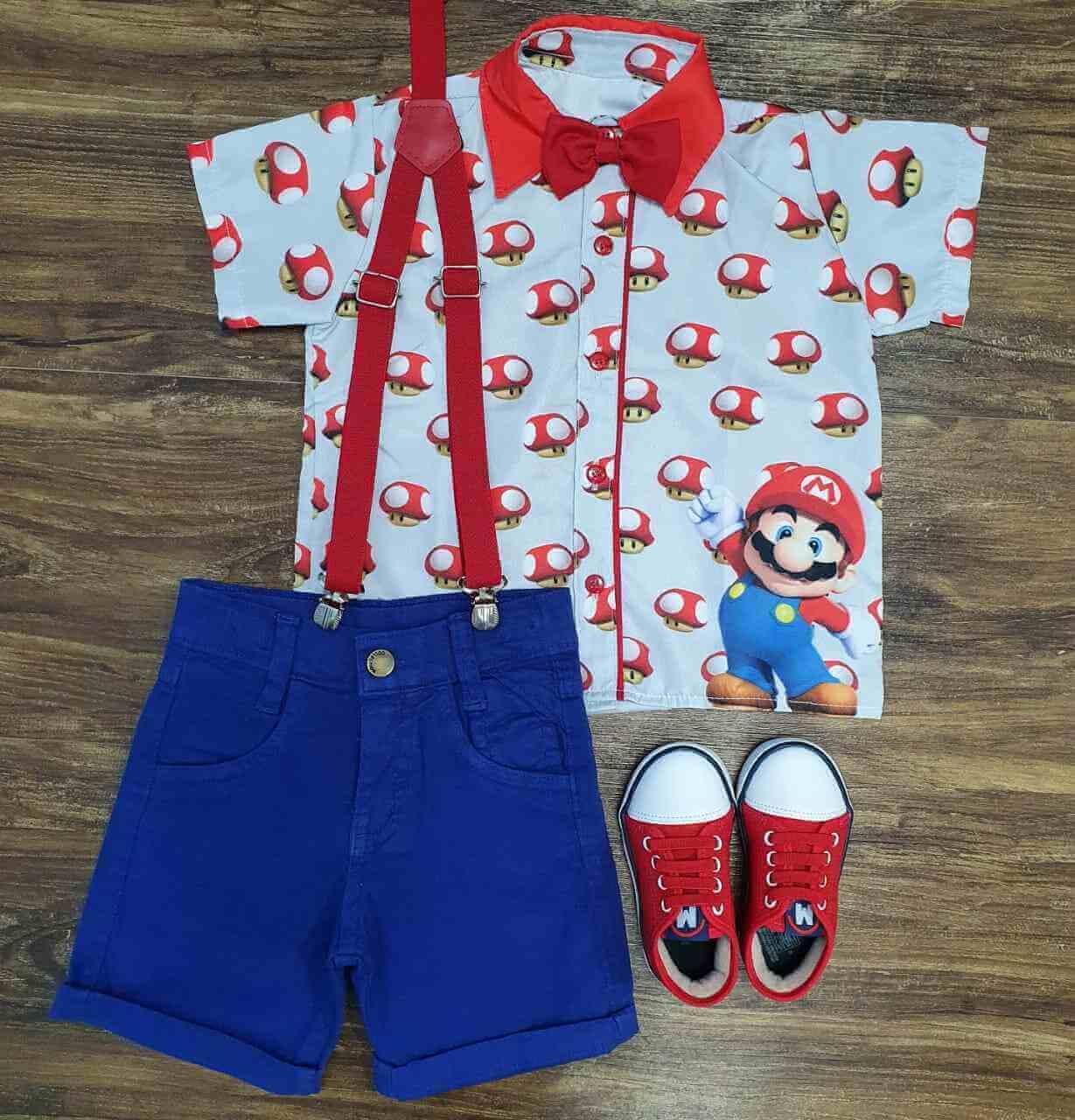 Conjunto Royal Mario Infantil