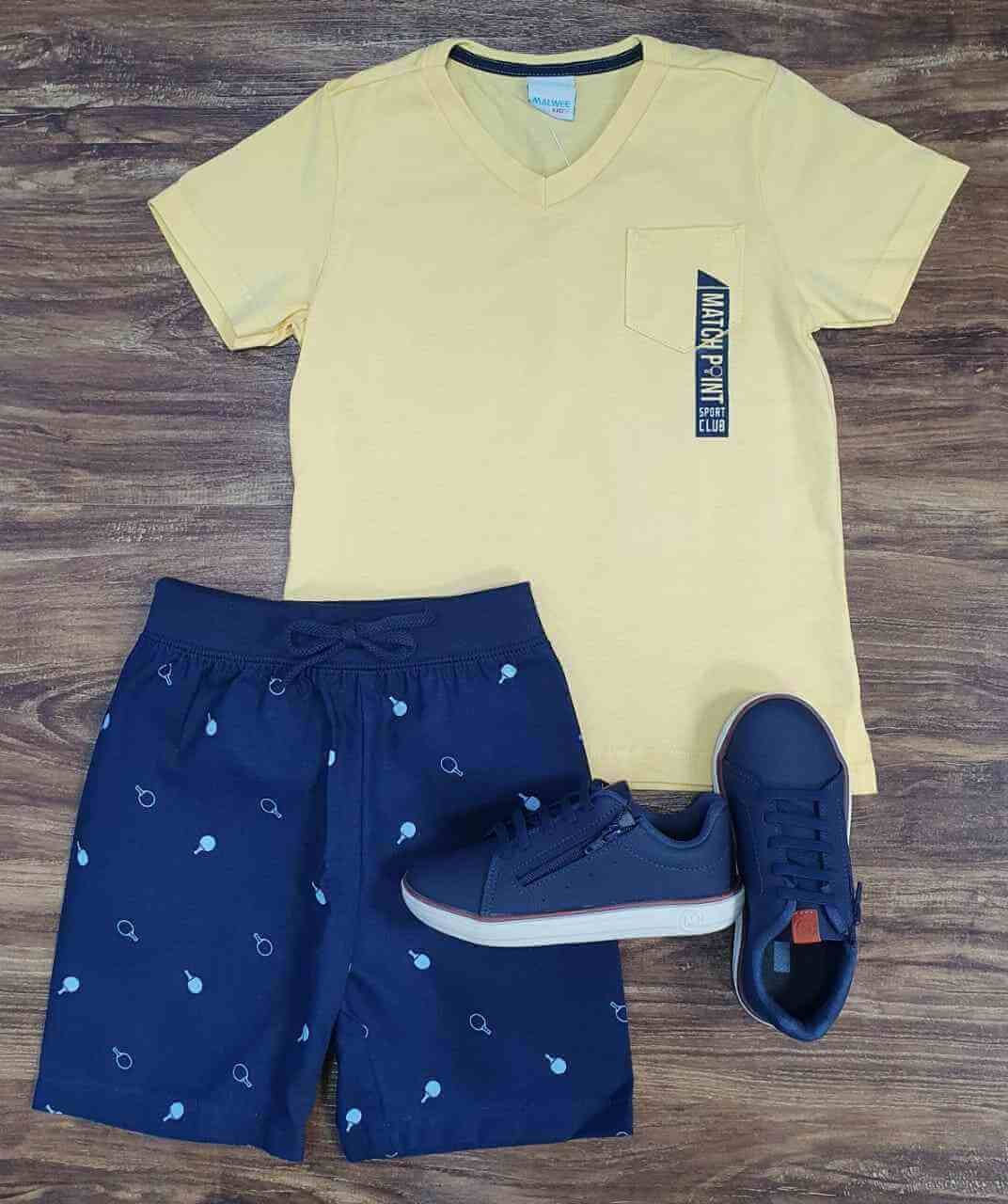 Conjunto Match Point Infantil