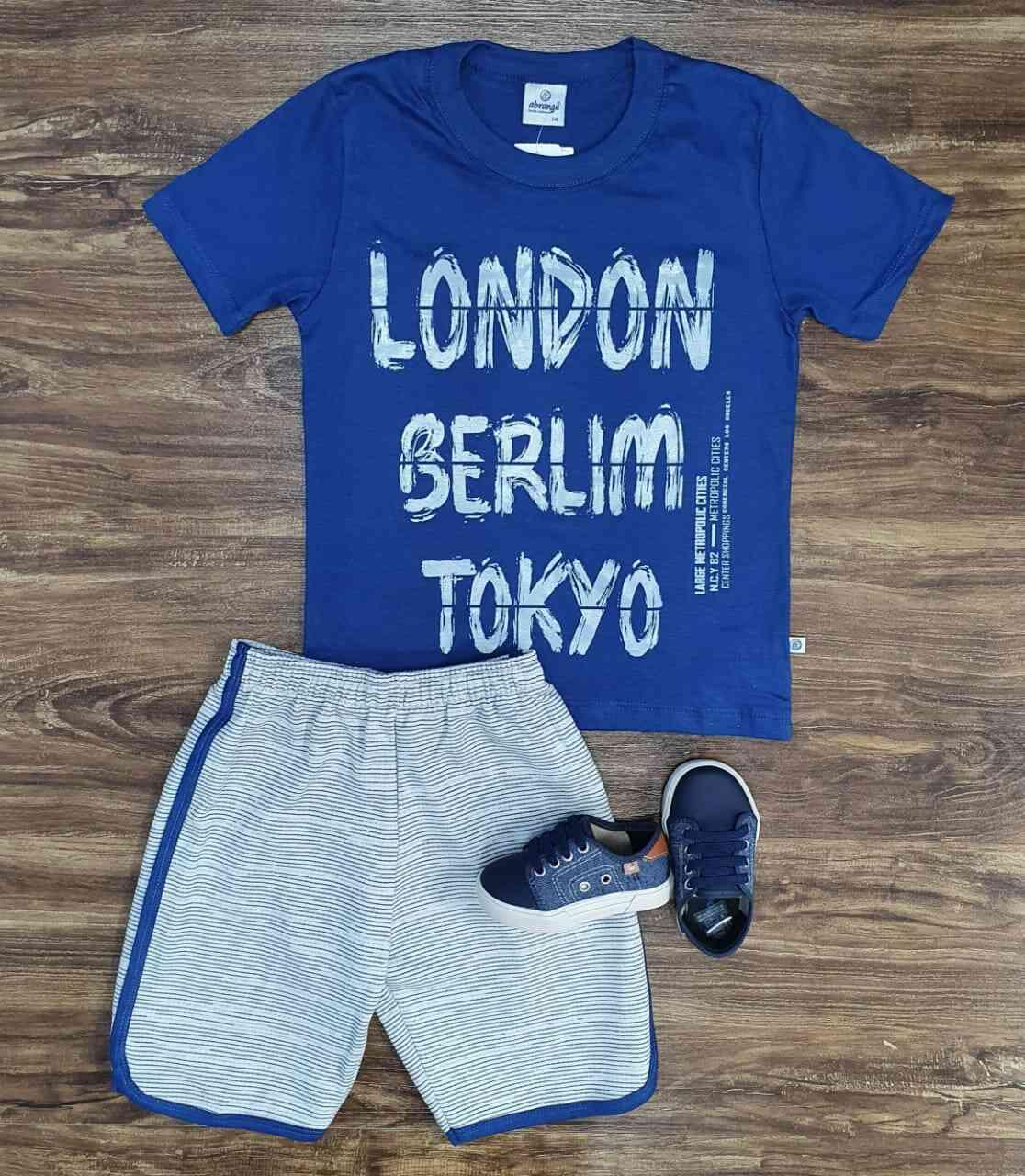 Conjunto London Infantil