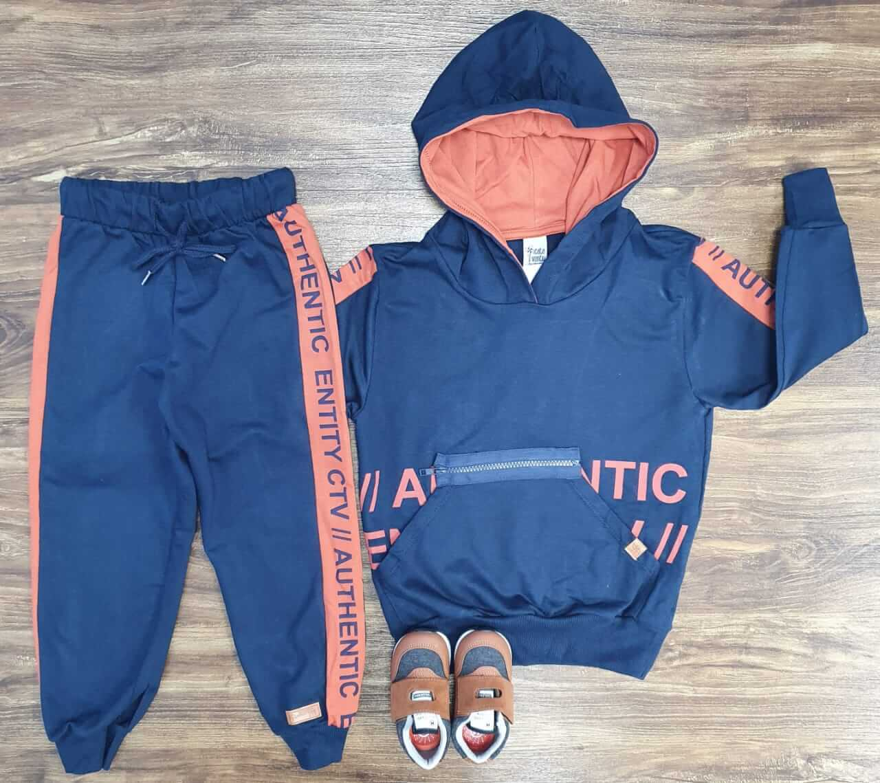 Conjunto Moletom Authentic Infantil