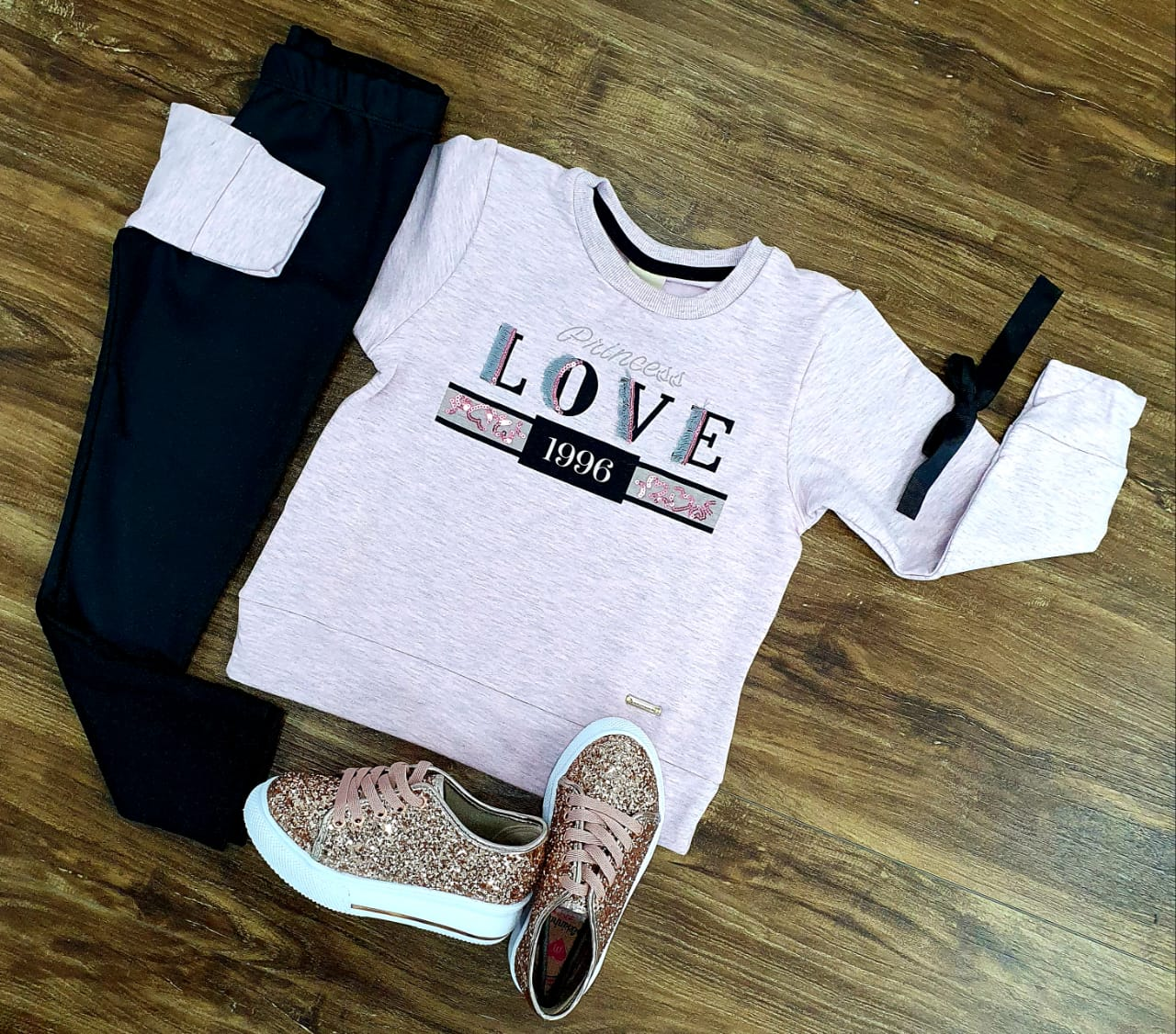 Conjunto Moletom Love